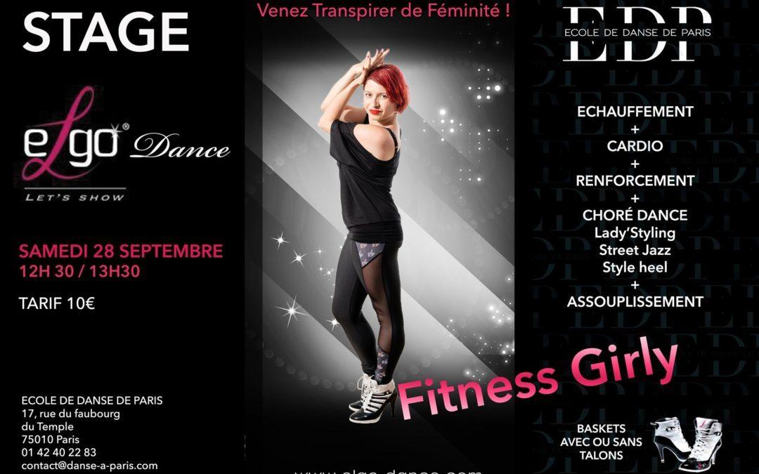 Stage avec Célia à Paris 10e