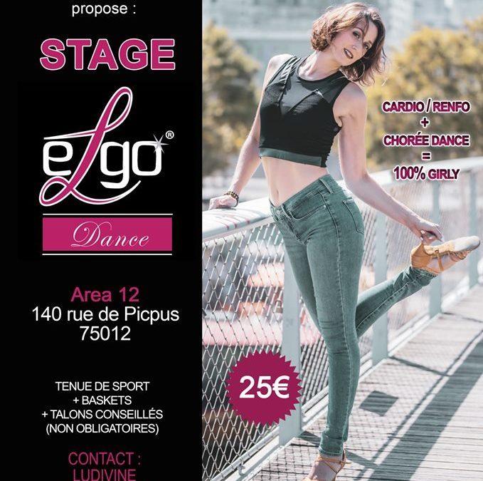 Stage avec Ludivine à Paris 12