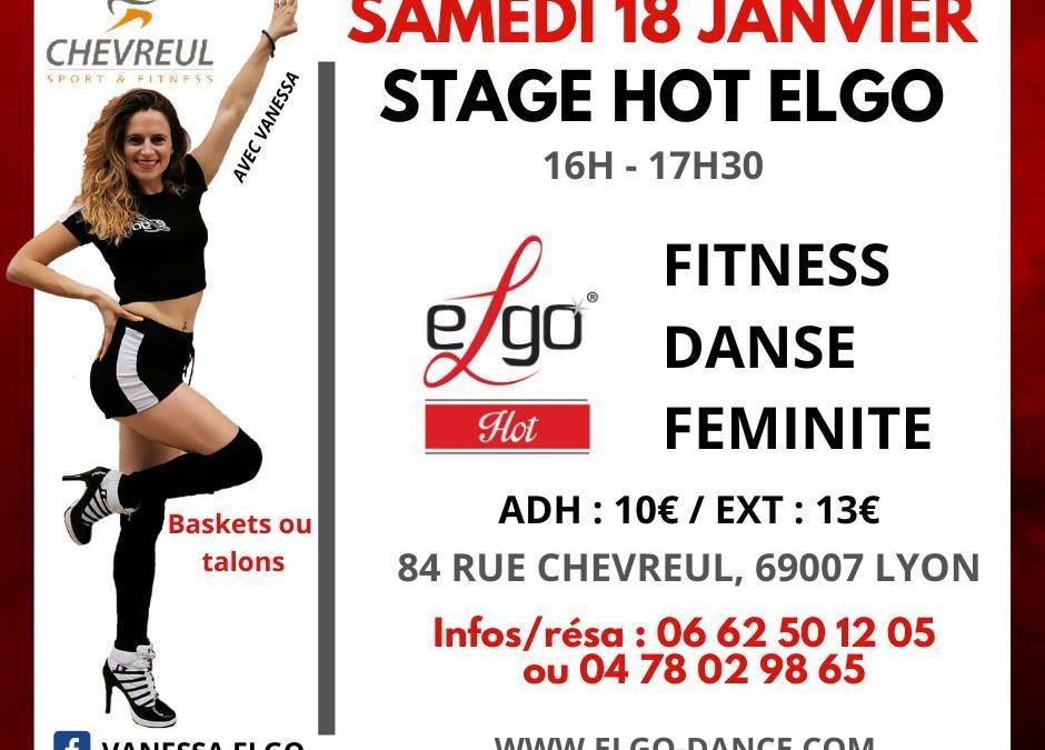 Stage avec Vanessa à Lyon
