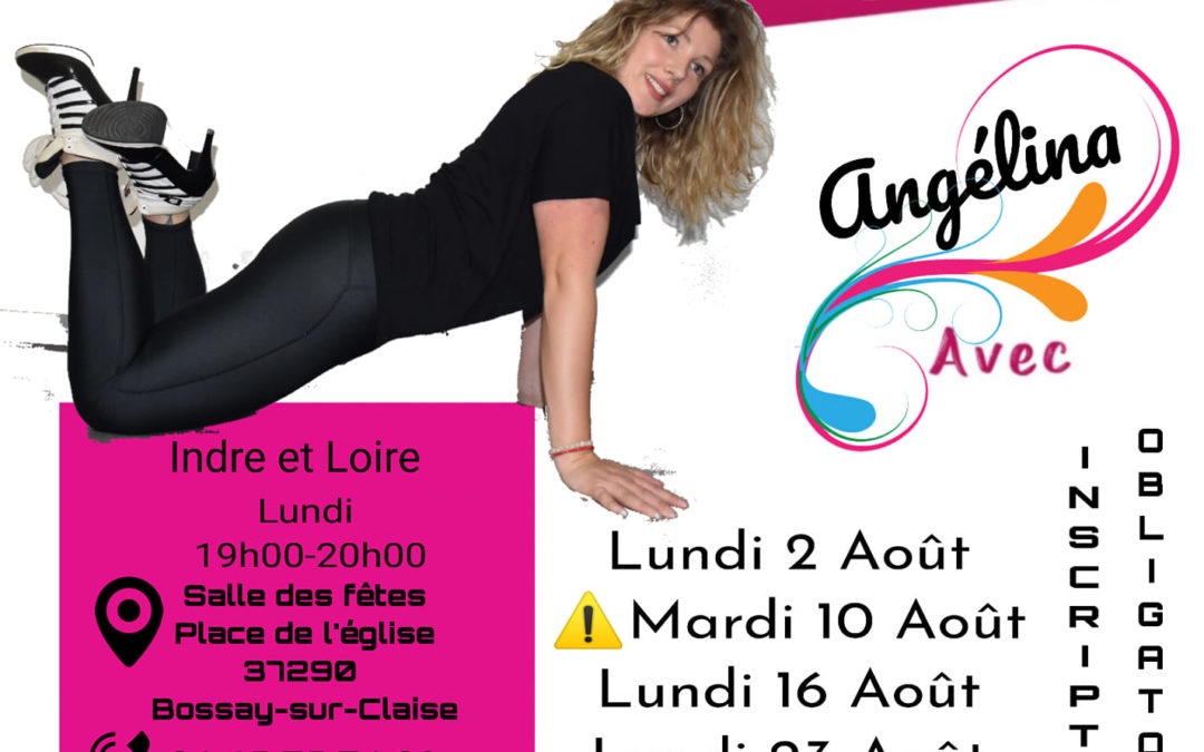 Cours les lundis avec Angelina à Bossay-sur-Claise (37)